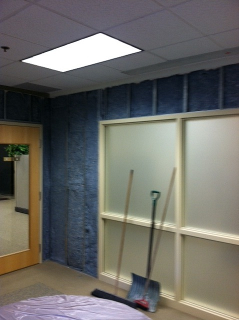Conference Room Wall Soundproofing With Sound Barrier