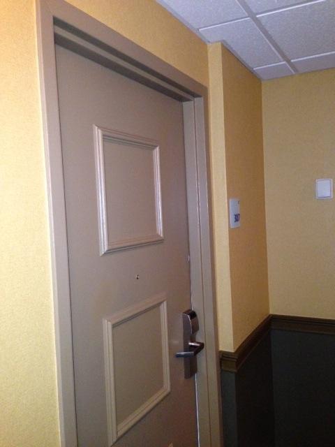 Pre Door Seals - Holiday Inn Boston Garden & Door Soundproofing to Mitigate Hallway Noise at Hotel