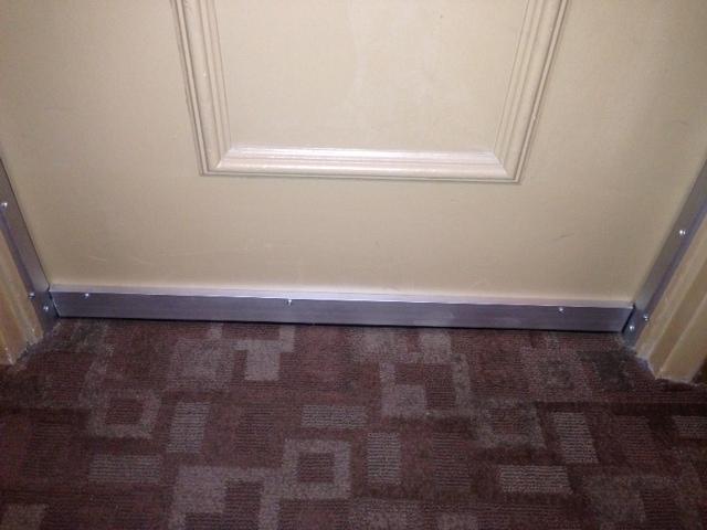 Door Soundproofing To Mitigate Hallway Noise At Hotel