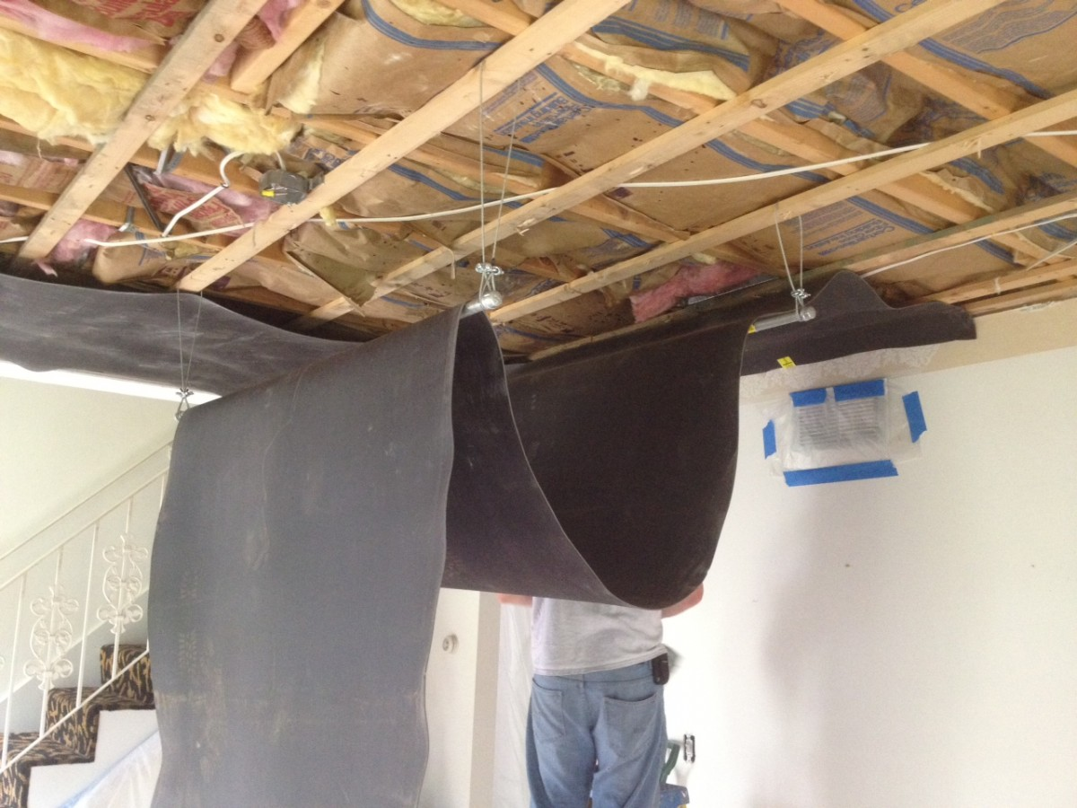 best walls soundproof size nyc to way medium of ceiling soundproofing tiles materials apartment acoustical
