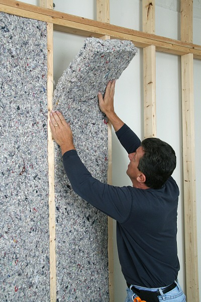 Soundproofing and thermal insulation for interior and exterior walls ceilings Soundproofing for walls interior
