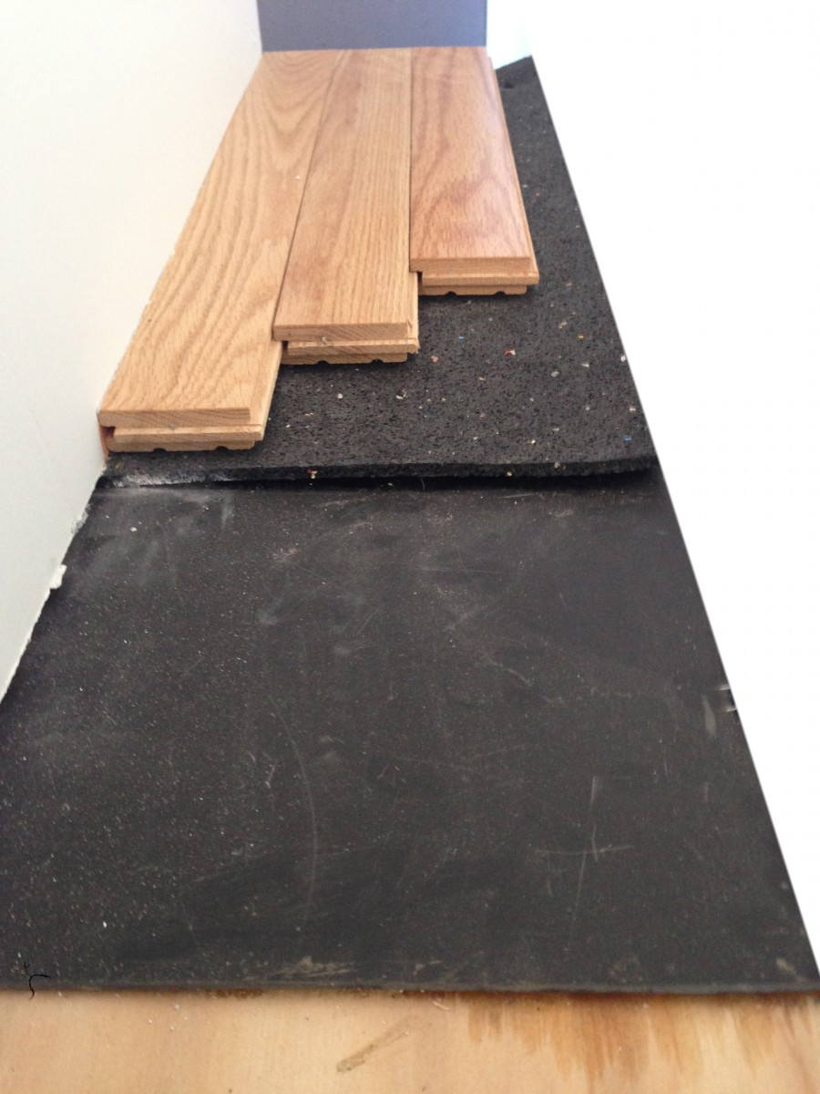Underlayment For Floor Soundproofing Impact Noise Reduction